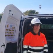Antonia María Requena centra su trabajo en controlar la calidad del agua que llega a todos los hogares.