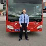 Óscar Vicedo conductor en Masatusa, cuenta las medidas de seguridad establecidas.