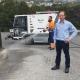 Javier Herrada, encargado del Servicio de Limpieza Viaria de FCC.