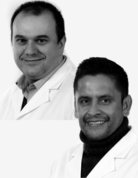 David Piñero y Saúl López